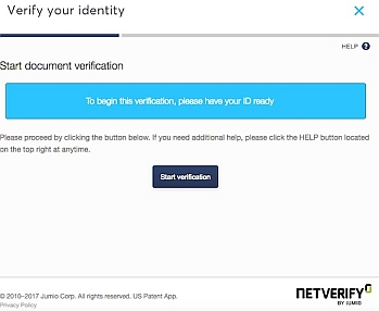 Netverify id validation