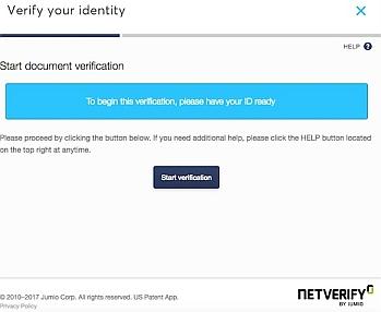 Netverify id validation